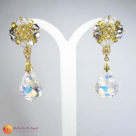 Earrings pendant Swarovski Preziosa 02