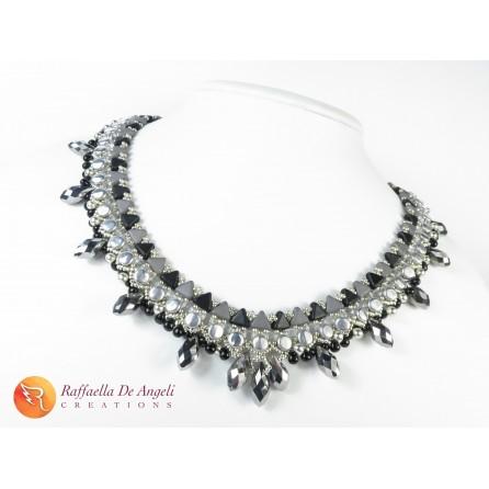 Collana perline vetro Morgana 01