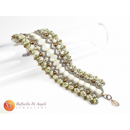 Bracelet Hazelnut Cream Fulvia 02