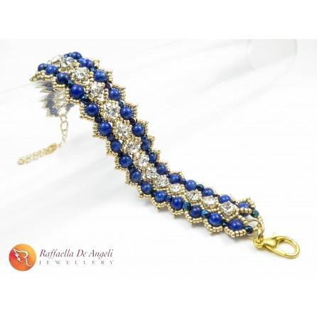 Bracelet lapis lazuli Sofia 02