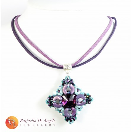Necklace swarovski crystal Margherita 02