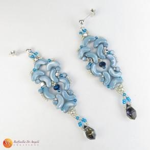 Earrings glass Arcos Medea 01