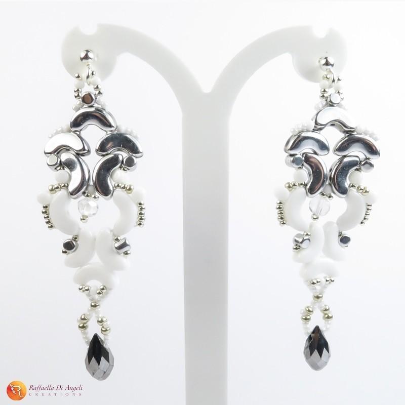 Earrings glass Arcos Medea 02