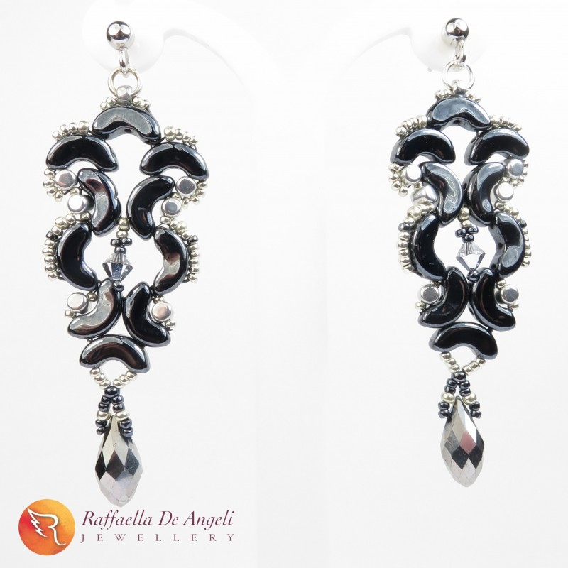 Earrings glass Arcos Medea 01