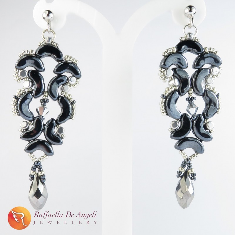 Earrings glass Arcos Medea 04