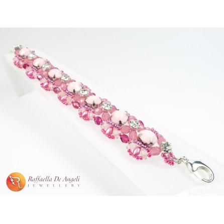 Bracciale superduo rosa Agnese 05