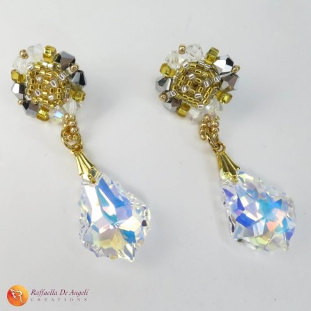Earrings pendant Swarovski Preziosa 02