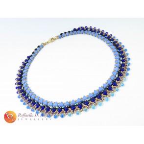 Collana perline vetro Morgana 02