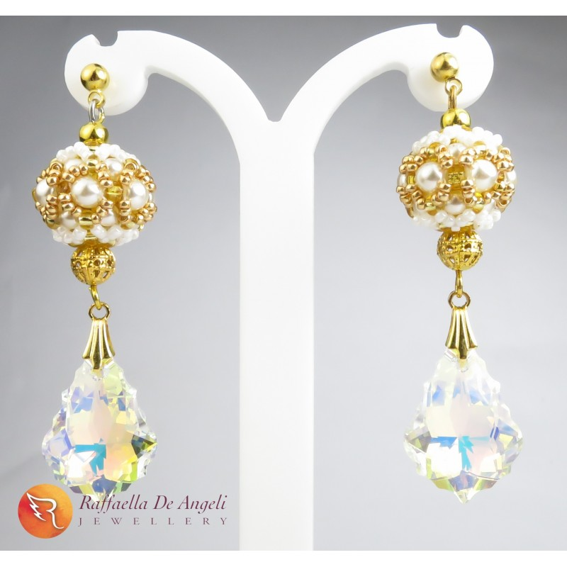 Earrings pendant Swarovski Preziosa 01