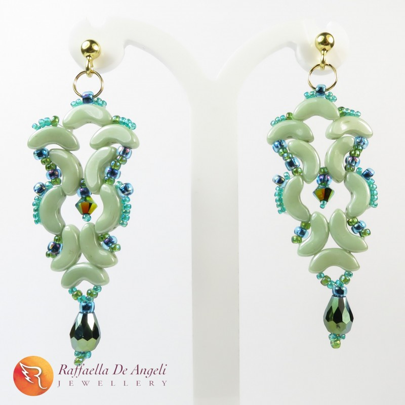 Earrings glass Arcos Medea 07