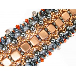 Bracciale copper and grey Fulvia 01