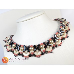 Necklace arcos white ivory Lucrezia 01