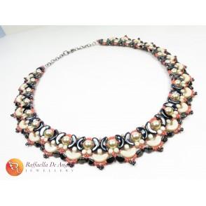 Necklace arcos white ivory Lucrezia 01