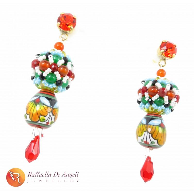 Earrings Fuseruole Deruta 03
