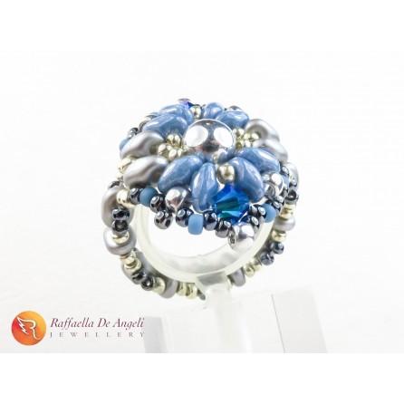 Anello azzurro Ellena 02