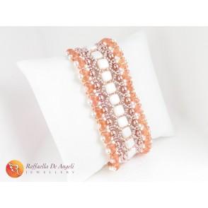Bracciale rosa Fulvia 03