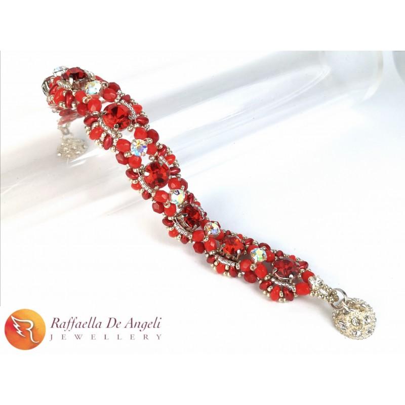 Bracelet red Agnese 08
