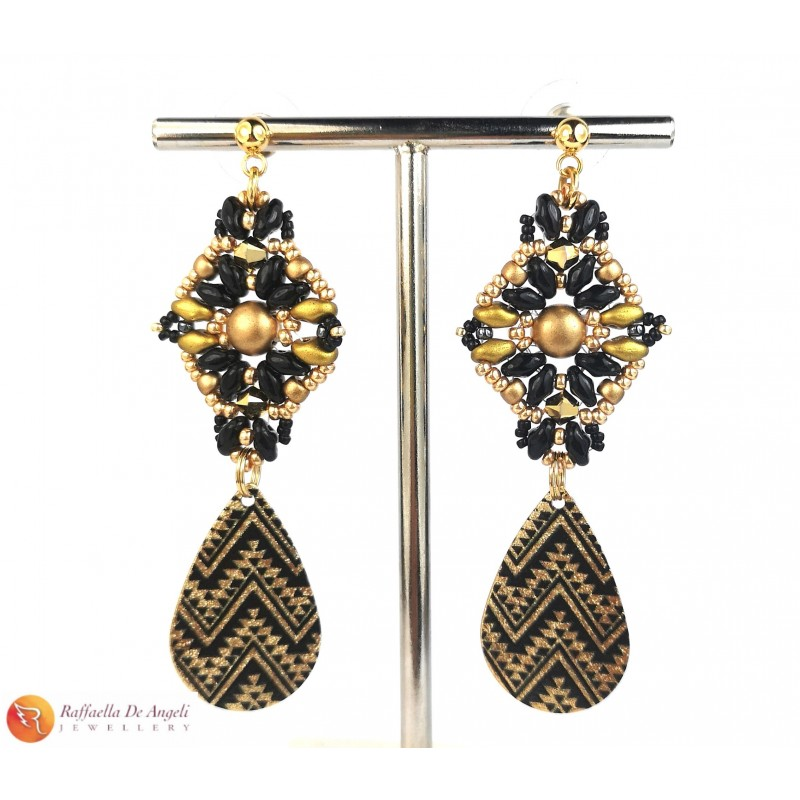 Earrings animalier n. 6