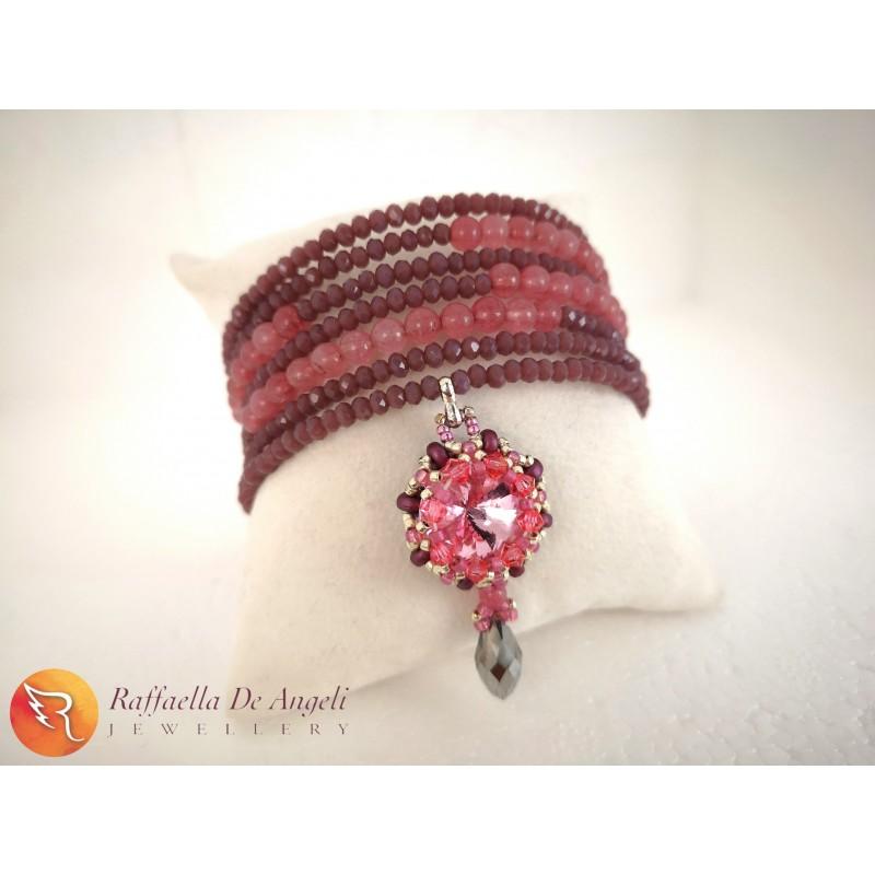 Bracelet pink spring 06