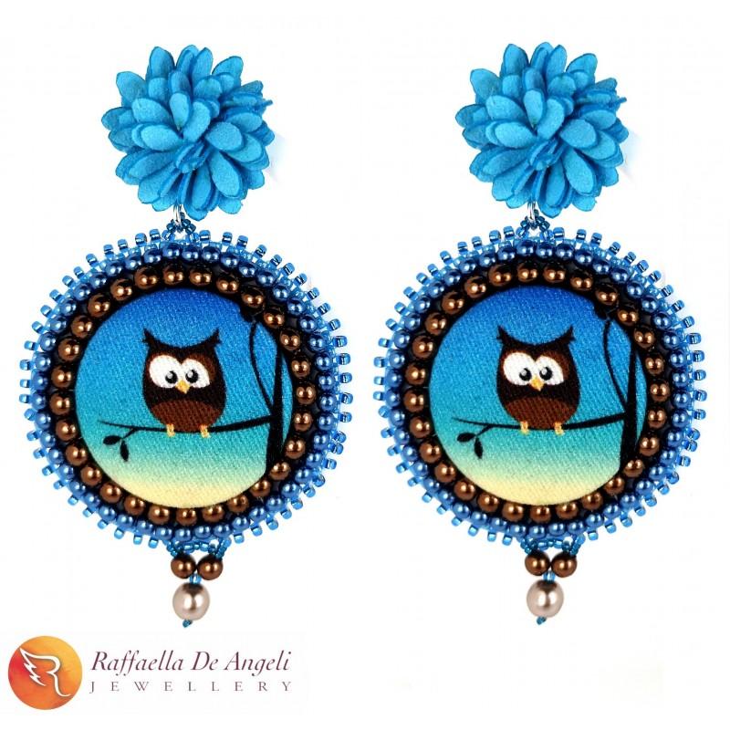 Earrings Tale Owl 03
