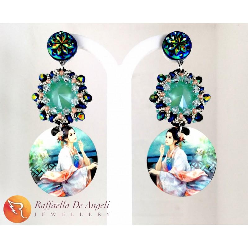 Earrings Japanese 02