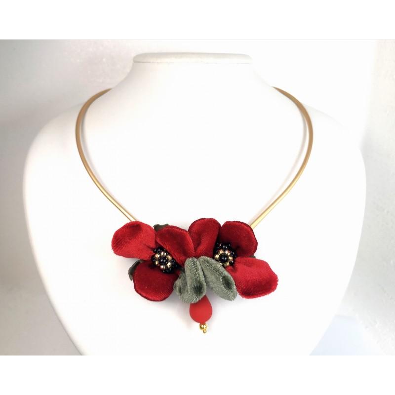 Necklace Flora 01