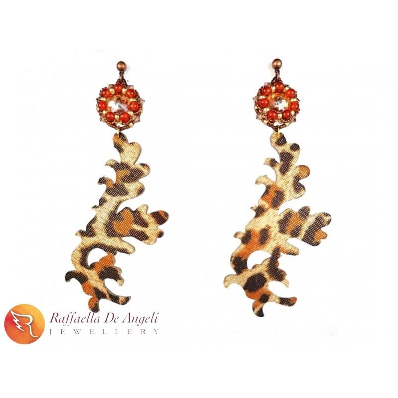 Earrings animalier 08