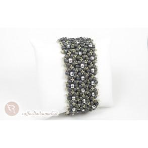 Bracelet rocailles crystal Petra 03