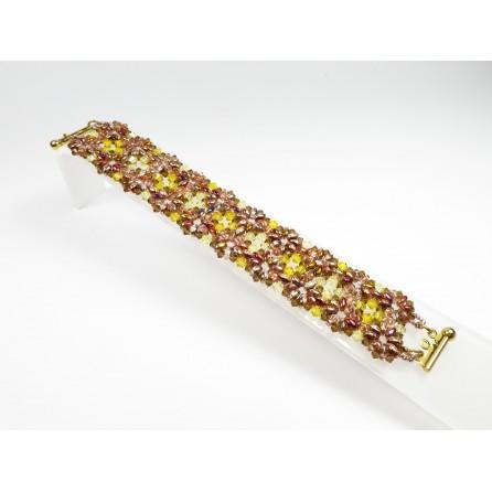 Bracciale superduo cristalli Francesca 03