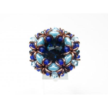 Anello cristallo superduo Dalia 02