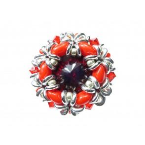 Anello cristallo superduo Dalia 03