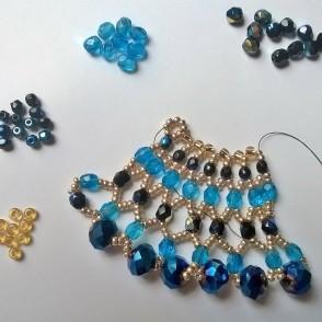 Collana cristalli Alessandra 01