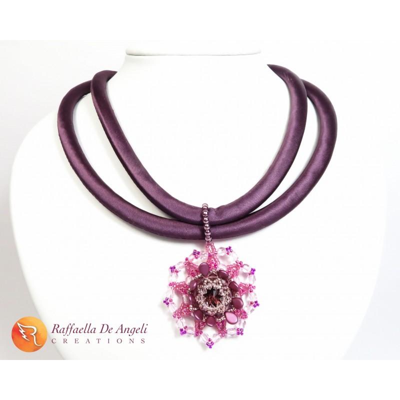 Necklace crystal swarovski Marcella 01