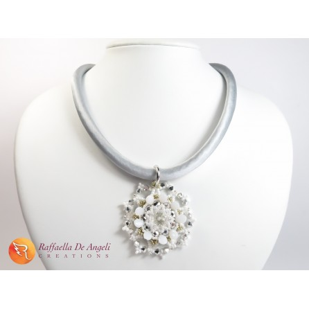 Necklace crystals swarovski Marcella 04