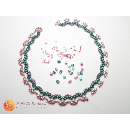 Necklace superduo Letizia 01