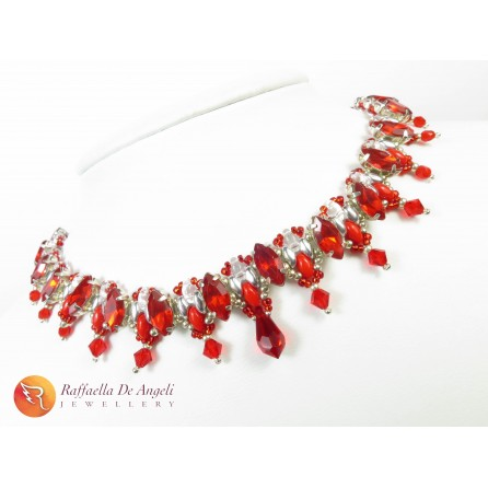 Necklace crystal Grace 05