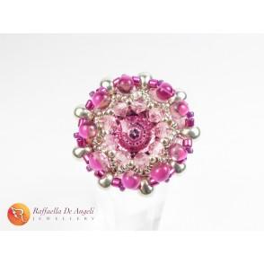 Anello rosa Beatrice 02