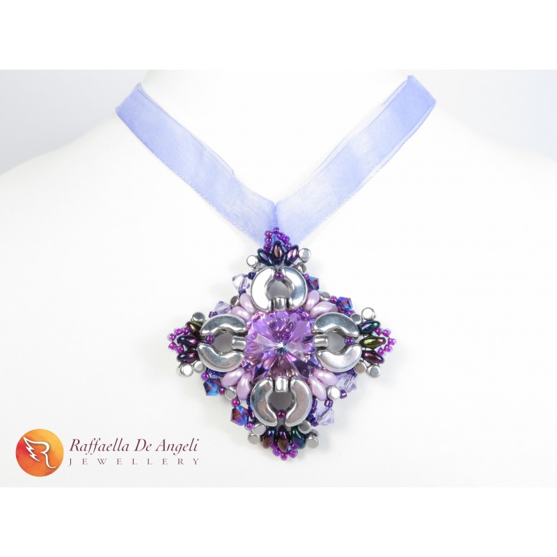 Necklace crystal swarovski Margherita