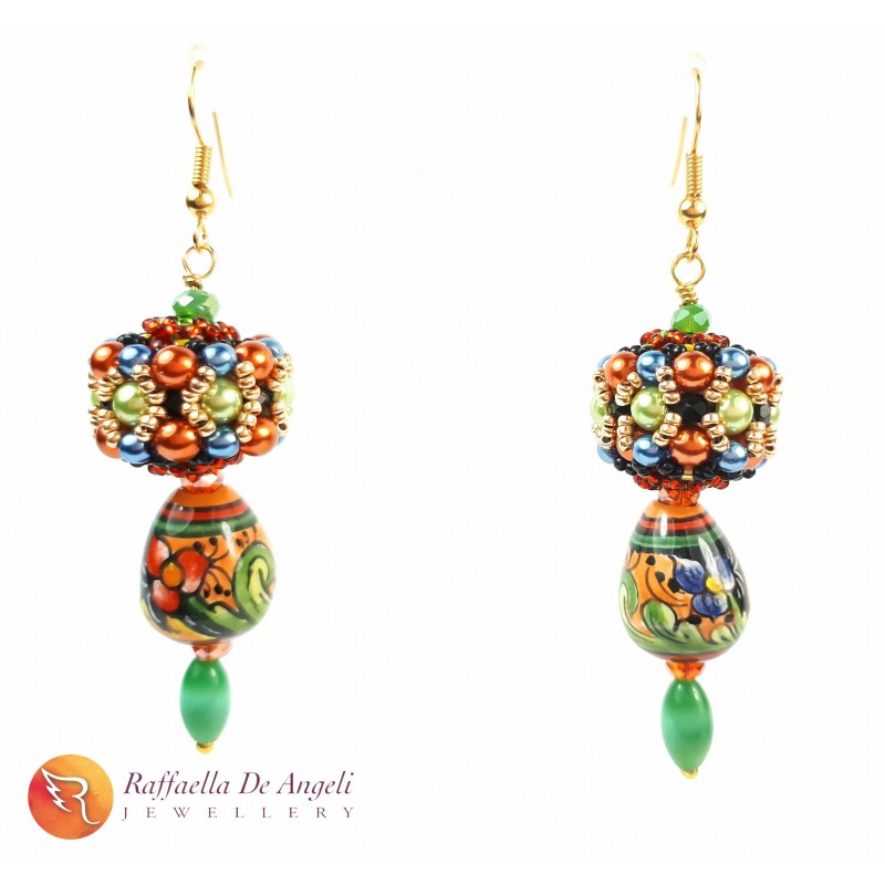 Earrings Fuseruole Deruta